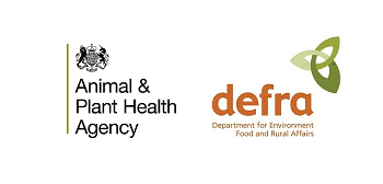defra and animal and plant health agency logos
