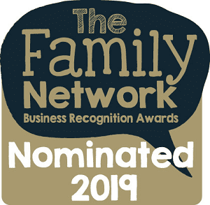 Family Network logo for The Pigfather in 2019