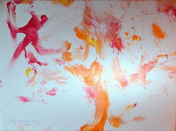 pig art painting