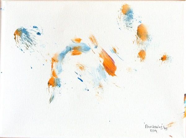 Awakening painting by Ella