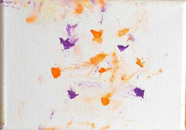 Polka dot painting by Miracle